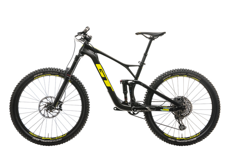 GT Force Carbon Expert Mountain Bike - 2019, Medium non-drive side