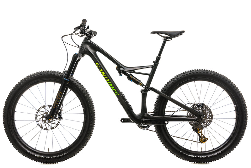 Specialized S-Works Stumpjumper Carbon 6Fattie Mountain Bike - 2018, Large non-drive side