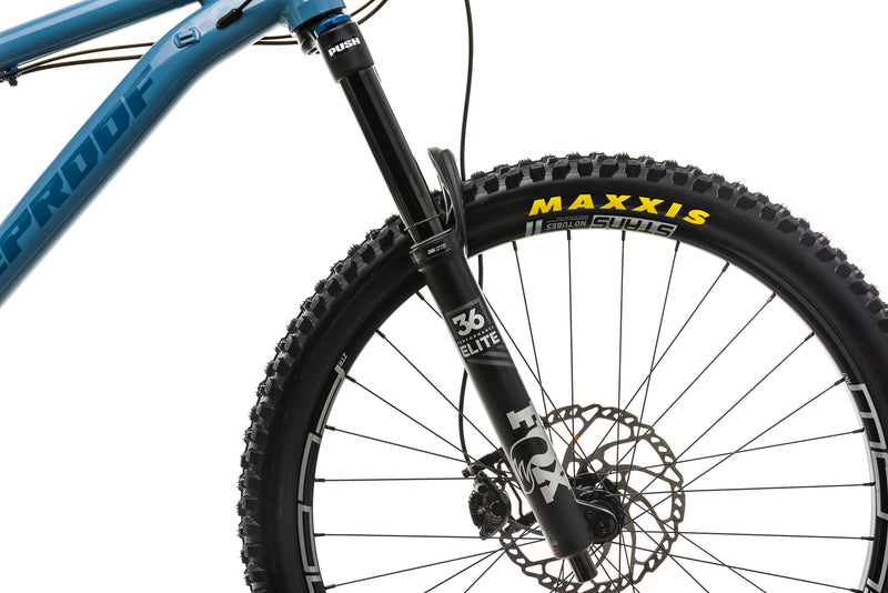 Nukeproof Scout 275 Mountain Bike - 2018, X-Large front wheel
