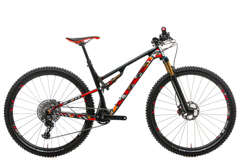 Intense Sniper XC Pro Mountain Bike - 2018, Medium drive side