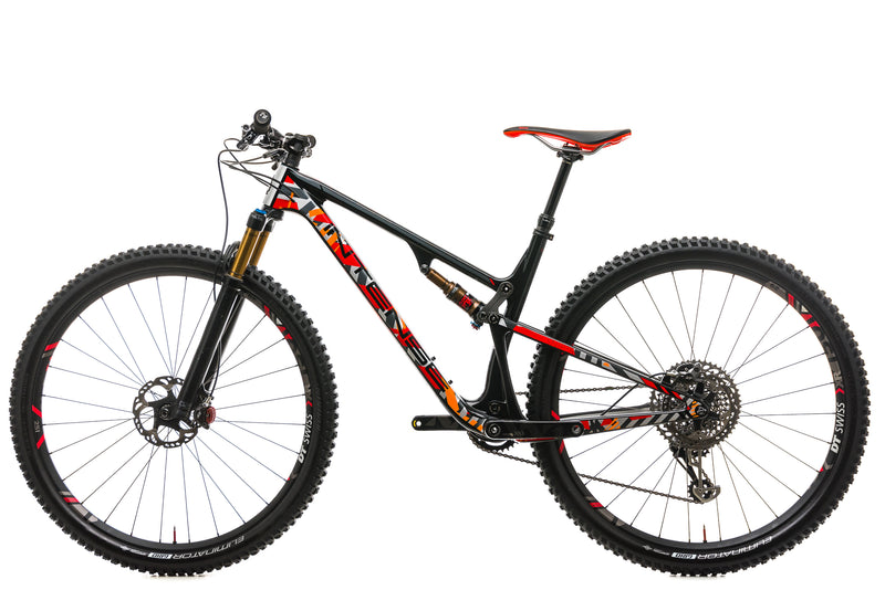 Intense Sniper XC Pro Mountain Bike - 2018, Medium non-drive side