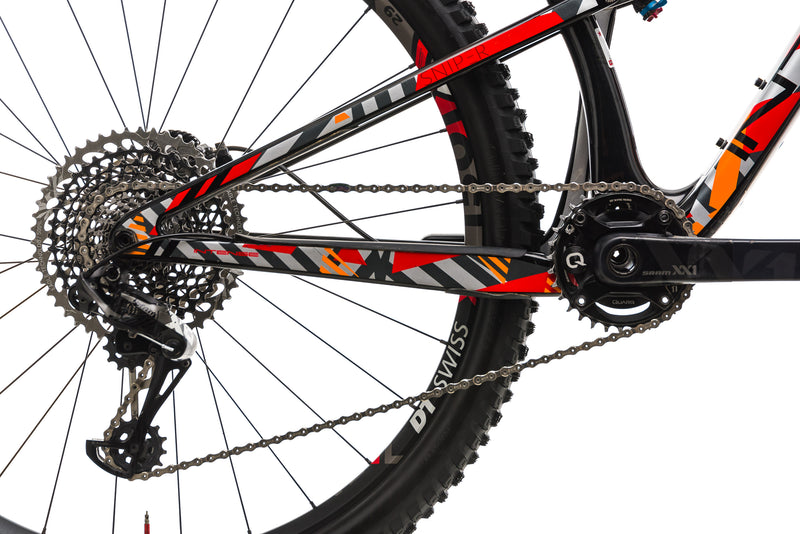 Intense Sniper XC Pro Mountain Bike - 2018, Medium drivetrain