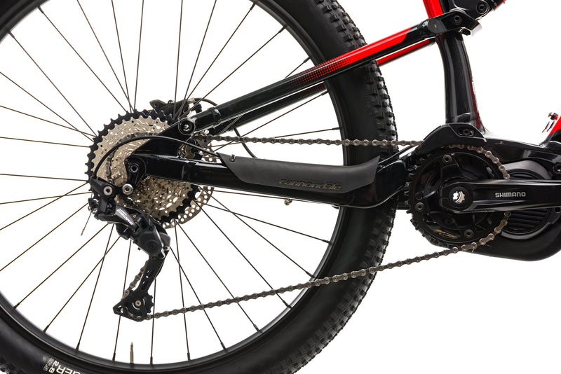 Cannondale Cujo NEO 130 4 Mountain E-Bike - 2019, Large drivetrain