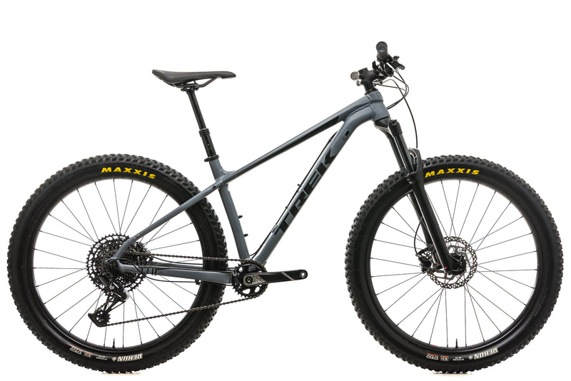 "Trek Roscoe 8 Mountain Bike - 2019, 17.5"" drive side"