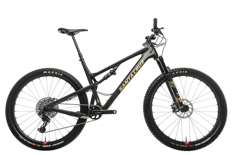 Santa Cruz Tallboy CC Mountain Bike - 2018, XX-Large drive side