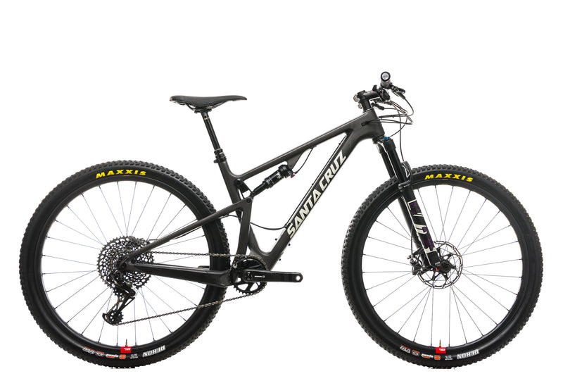 Santa Cruz Blur TR CC Mountain Bike - 2019, Medium drive side