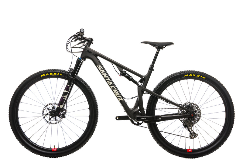 Santa Cruz Blur TR CC Mountain Bike - 2019, Medium non-drive side