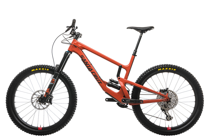 Santa Cruz Nomad CC X01 Reserve Mountain Bike - 2019, X-Large non-drive side