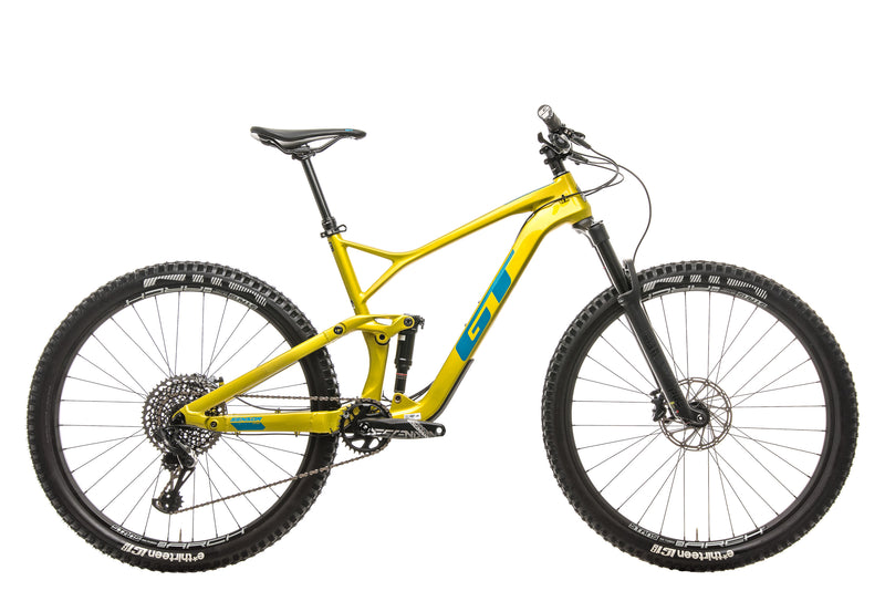 GT Sensor Carbon Pro Mountain Bike - 2019, Medium drive side