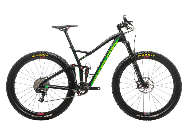 Niner RKT 9 RDO 4-Star Mountain Bike - 2016, Medium drive side