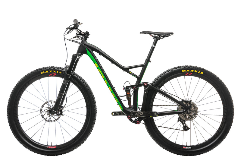 Niner RKT 9 RDO 4-Star Mountain Bike - 2016, Medium non-drive side