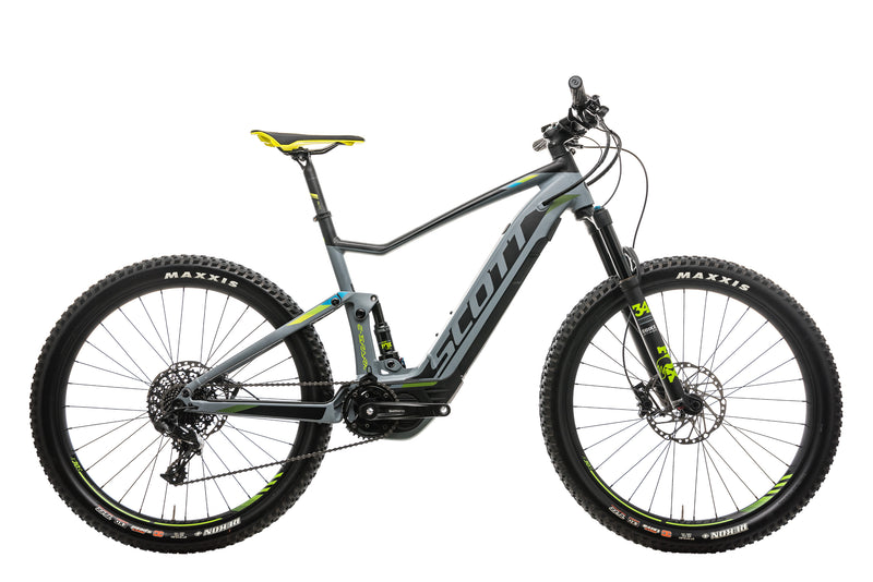 Scott E-Spark 720 Mountain E-Bike - 2018, Large drive side