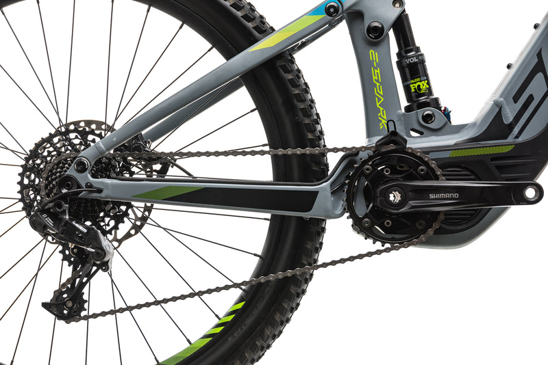 Scott E-Spark 720 Mountain E-Bike - 2018, Large drivetrain