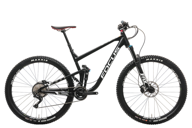 Focus Jam Elite 29 Mountain Bike - 2018, Large drive side
