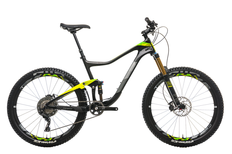 Giant Trance Advanced 1 Mountain Bike - 2017, Large drive side