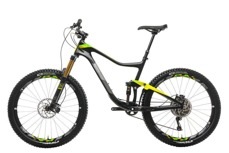 Giant Trance Advanced 1 Mountain Bike - 2017, Large non-drive side