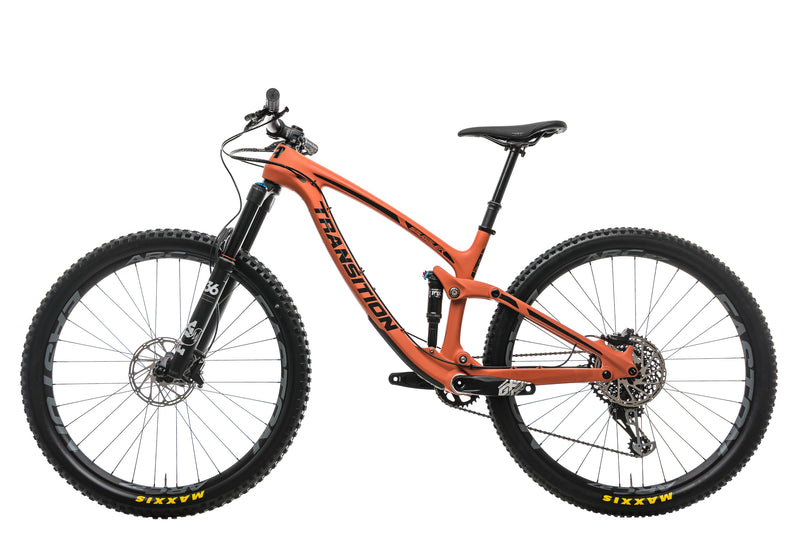 Transition Smuggler Carbon GX Mountain Bike - 2019, Medium non-drive side