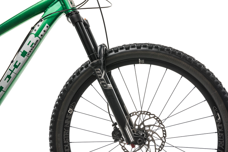 Reeb Cycles Sqweeb V2 Mountain Bike - 2019, Medium cockpit