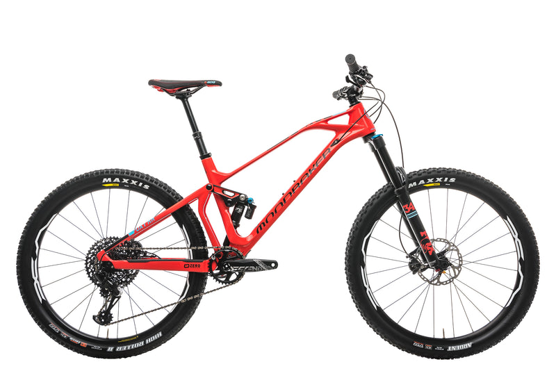 Mondraker Foxy Carbon RR Mountain Bike - 2018, Medium drive side