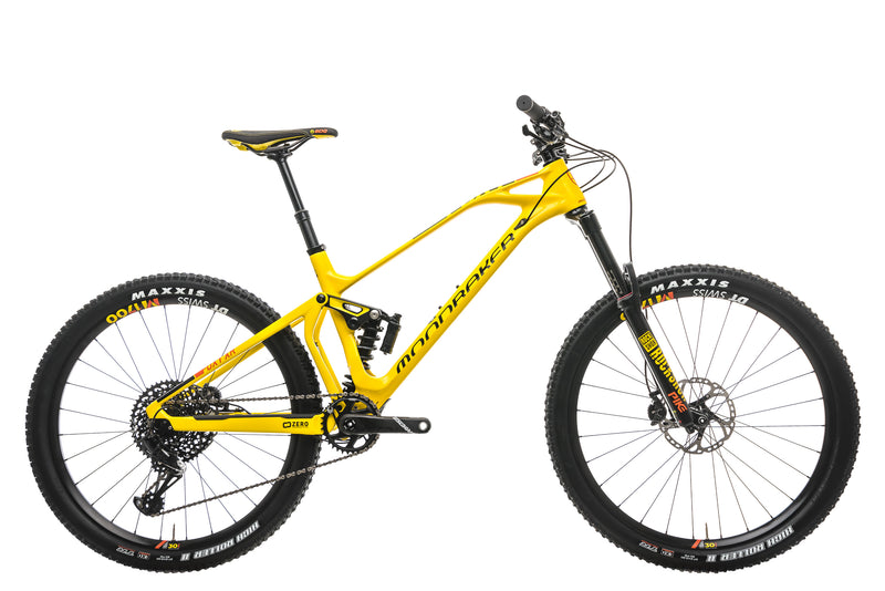 Mondraker Foxy Carbon XR Mountain Bike - 2018, Medium drive side