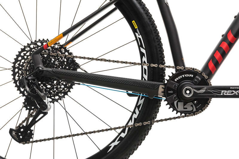 Mondraker Podium R Mountain Bike - 2018, Small drivetrain