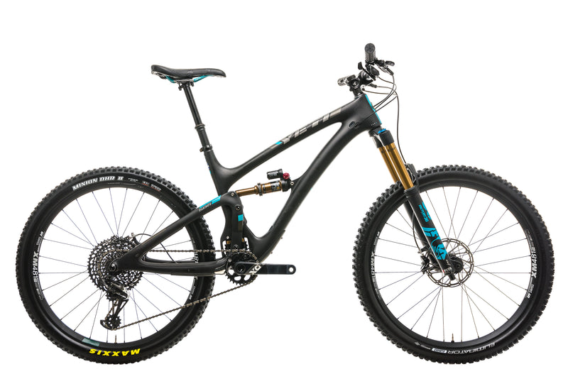 2018 Yeti SB6 Turq X01 Mountain Bike - 2018, Medium drive side