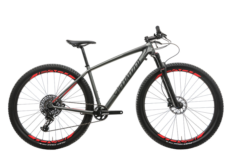Specialized Epic Hardtail Expert Mens Mountain Bike - 2018, Medium drive side