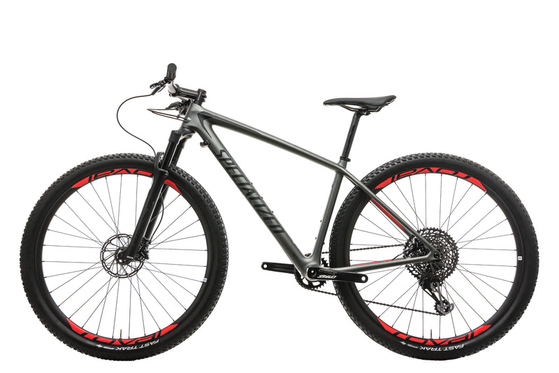 Specialized Epic Hardtail Expert Mens Mountain Bike - 2018, Medium non-drive side