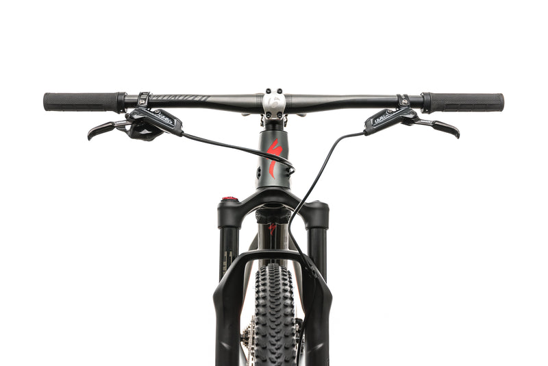 Specialized Epic Hardtail Expert Mens Mountain Bike - 2018, Medium cockpit