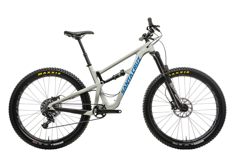 Santa Cruz Hightower C Mountain Bike - 2018, Medium drive side