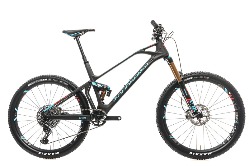 Mondraker Foxy Carbon RR SL Mountain Bike - 2018, Large drive side
