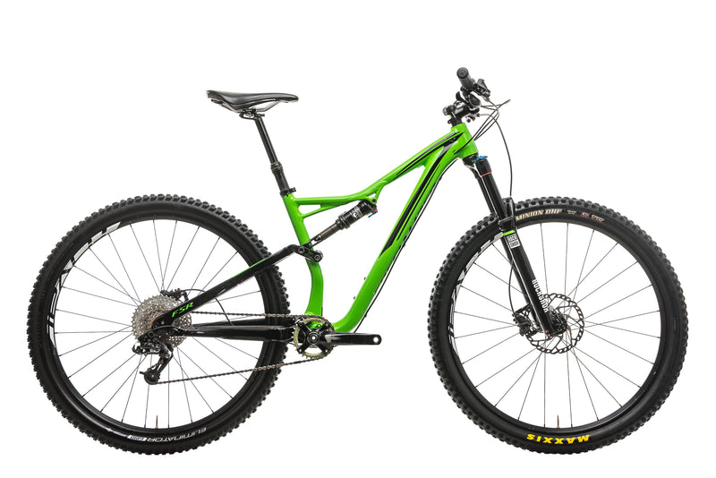 Specialized Stumpjumper FSR Comp 29 Mountain Bike - 2016, Medium drive side