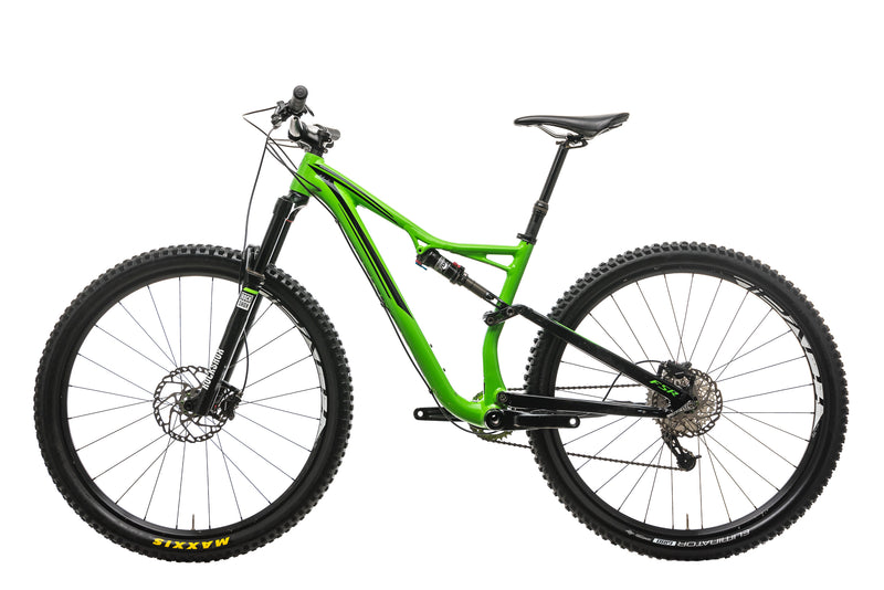 Specialized Stumpjumper FSR Comp 29 Mountain Bike - 2016, Medium non-drive side