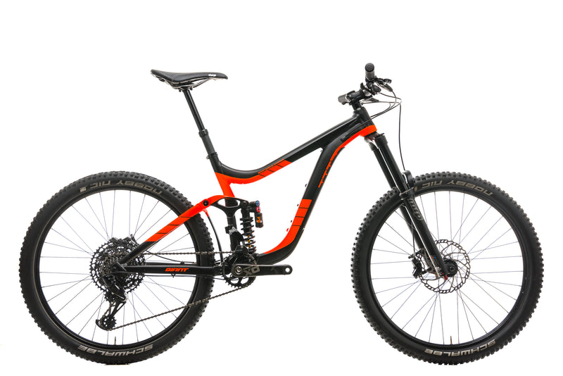 Giant Reign SX Mountain Bike - 2017, Medium drive side