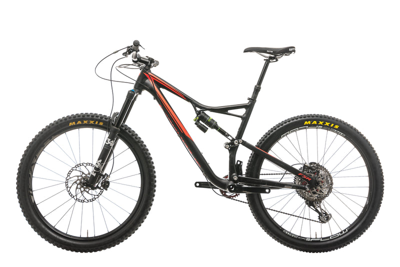 Specialized Stumpjumper FSR Comp Mountain Bike - 2016, Large non-drive side