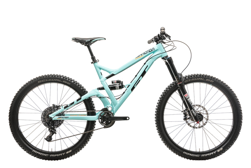 GT Sanction Expert Mountain Bike - 2018, Medium drive side