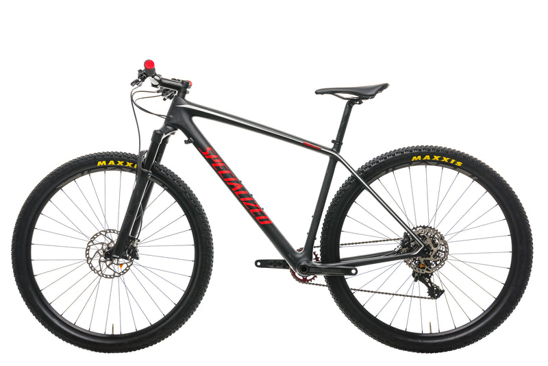 Specialized Epic Hardtail Expert Carbon World Cup Mountain Bike - 2017, Large non-drive side