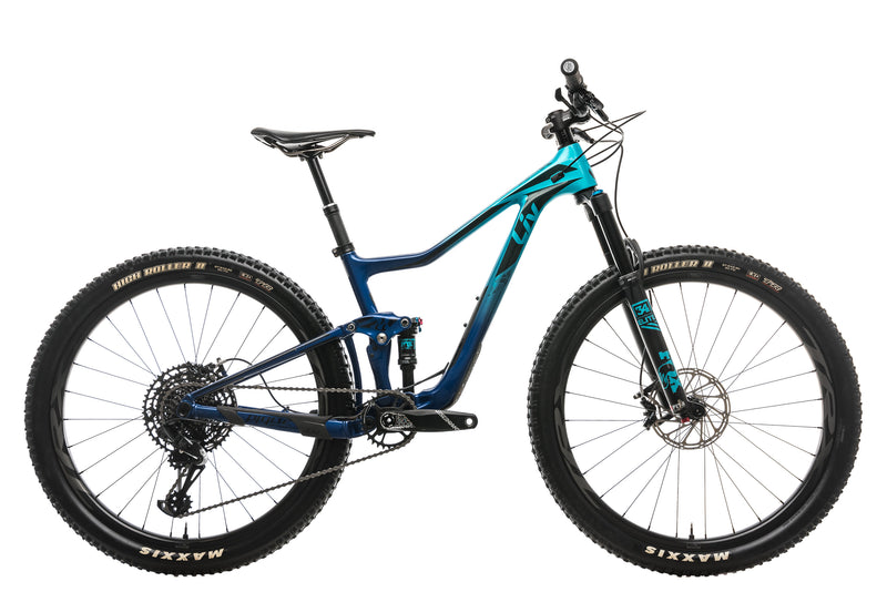 Liv Pique Advanced Womens Mountain Bike - Small, 2019 drive side