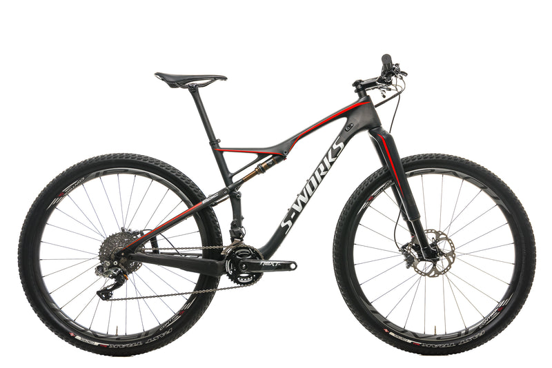 2017 Specialized S-Works Epic FSR Carbon Di2 Mountain Bike - 2017, Large drive side