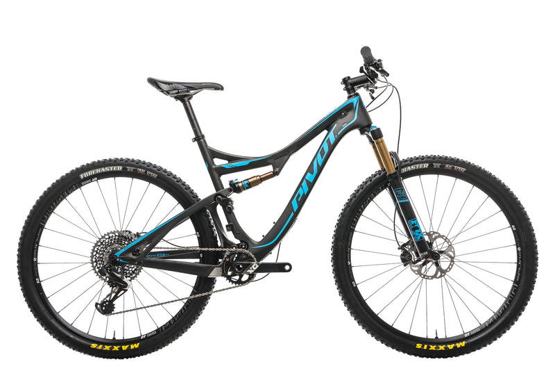 Pivot Mach 429 SL Mountain Bike - 2018, Large drive side