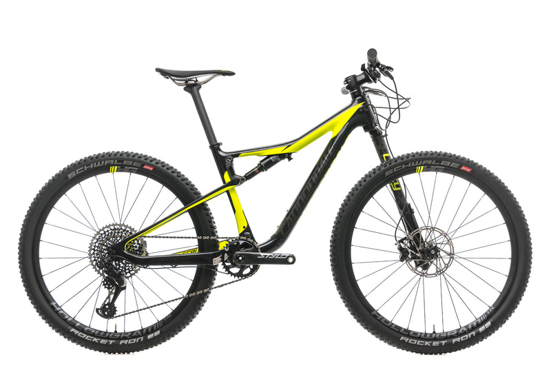 Cannondale Scalpel Si Hi-Mod Carbon 1 Mountain Bike - 2018, Small drive side