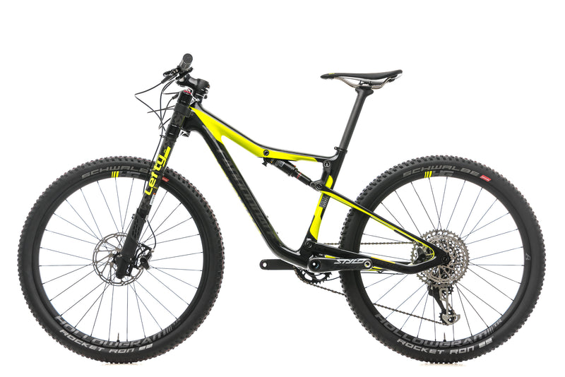 Cannondale Scalpel Si Hi-Mod Carbon 1 Mountain Bike - 2018, Small non-drive side