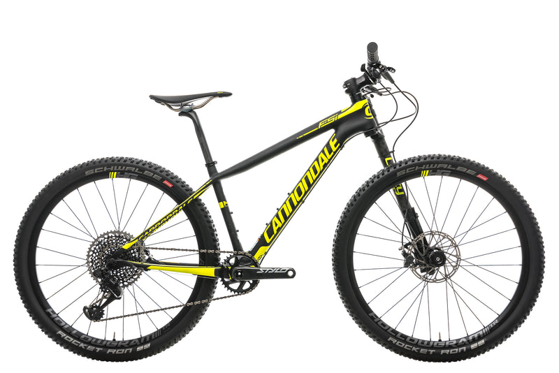 Cannondale F-Si Carbon 1 Hi-MOD Mountain Bike - 2018, Small drive side