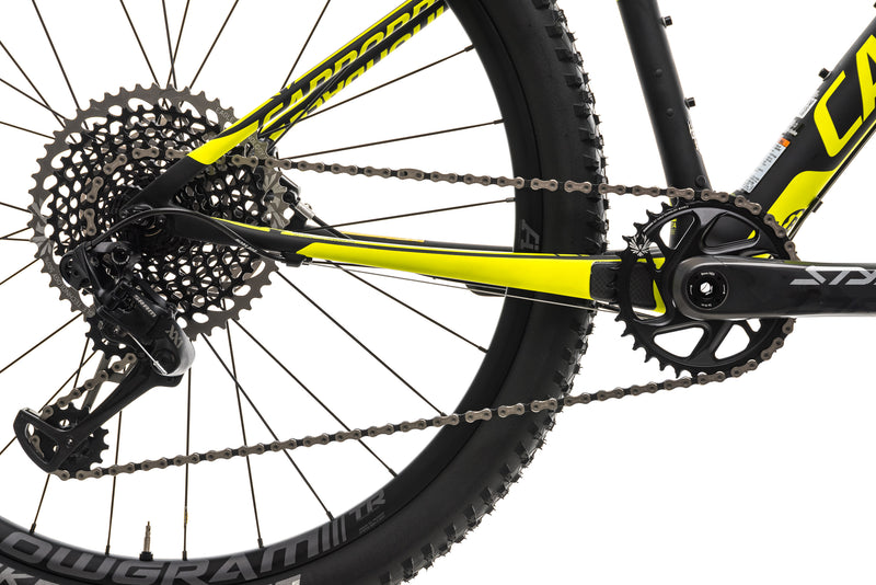 Cannondale F-Si Carbon 1 Hi-MOD Mountain Bike - 2018, Small drivetrain