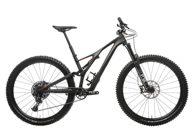 Specialized Stumpjumper Comp Carbon 29 Mens Mountain Bike - 2020, Medium drive side