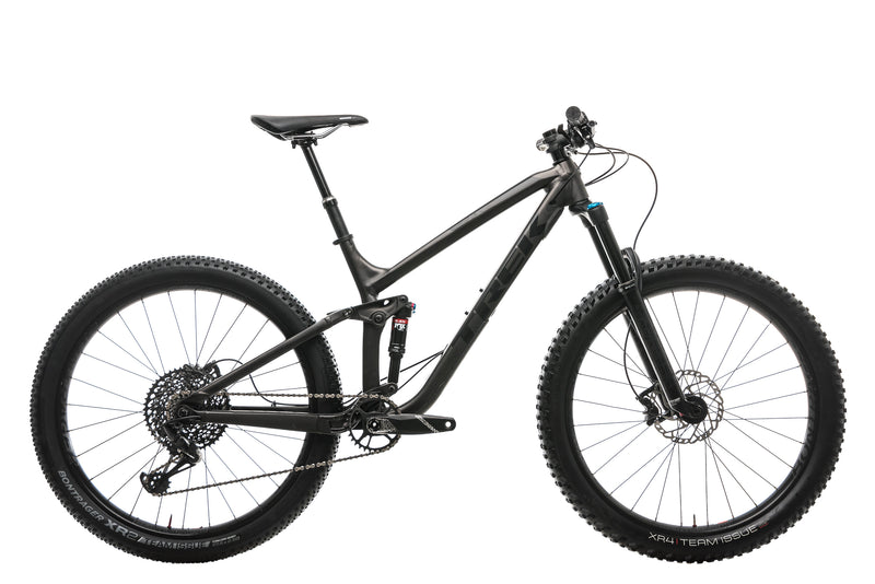 "Trek Fuel EX 8 27.5 Plus Mountain Bike - 2018, 18.5"" drive side"