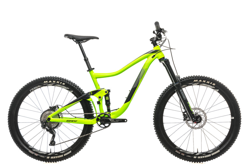 Giant Trance 3 Mountain Bike - 2018, Medium drive side