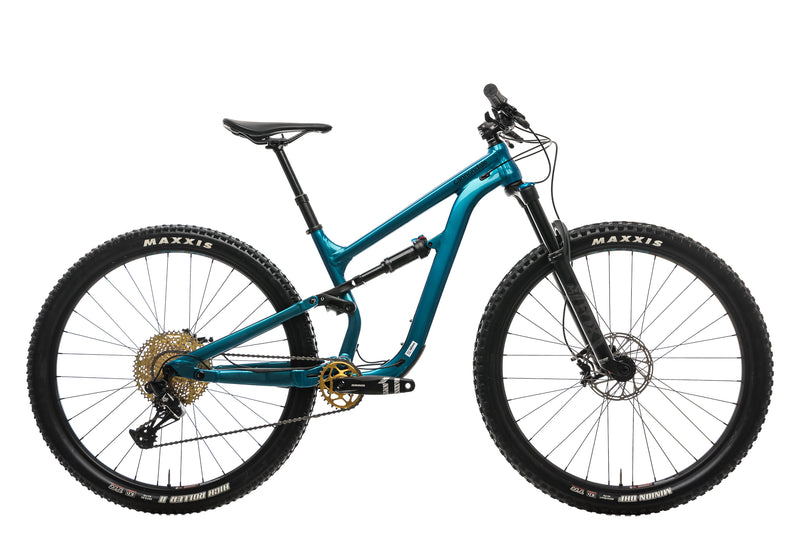 Cannondale Habit 4 Mountain Bike - 2019, Small drive side