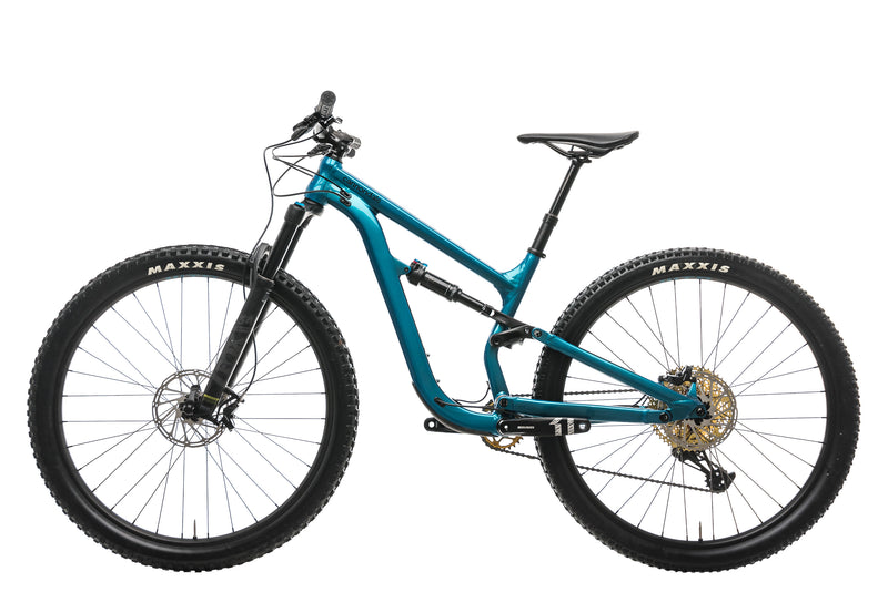 Cannondale Habit 4 Mountain Bike - 2019, Small non-drive side