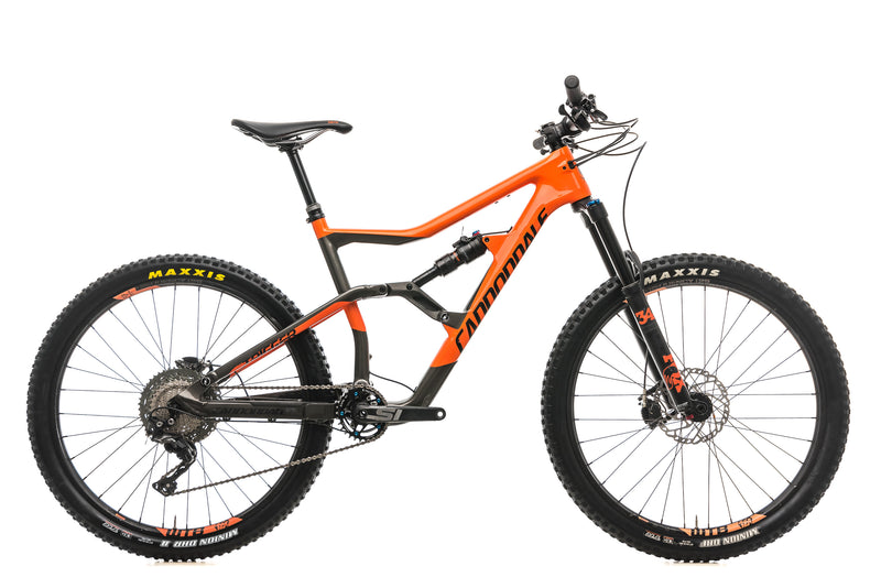 Cannondale Trigger Carbon 3 Mountain Bike - 2018, Large drive side
